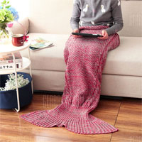 Одеяло русалка на gearbest.com