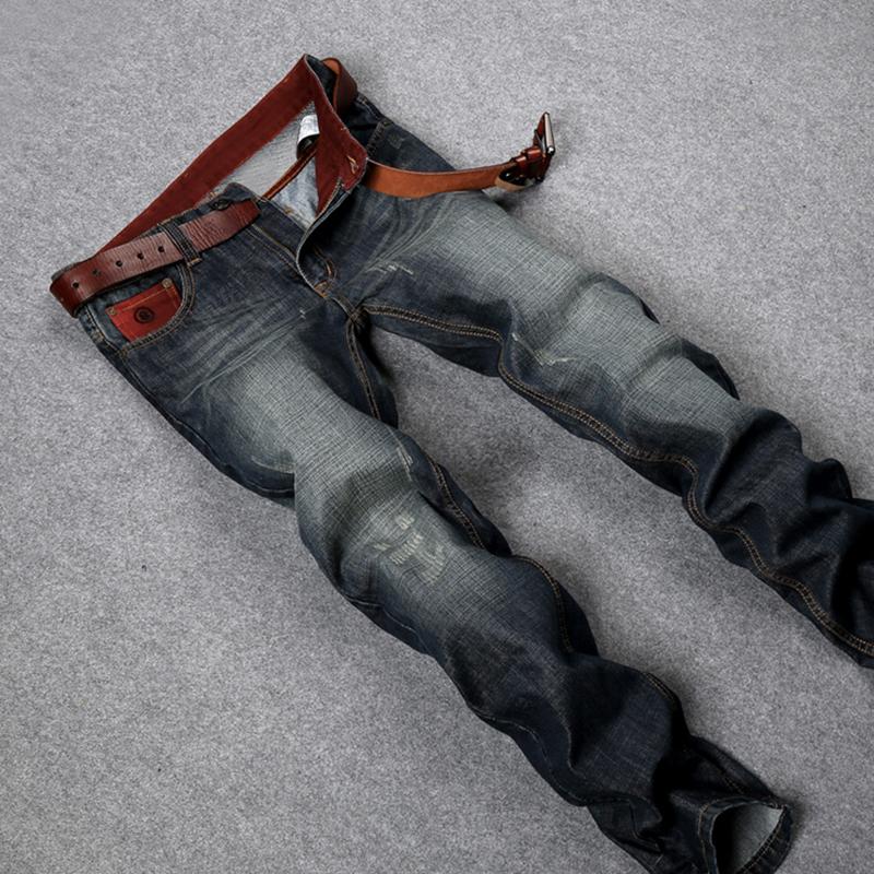 Hot sale fashion casual straight washed mens jeansmen jeanshigh quality cotton denim jeans men size:28~38