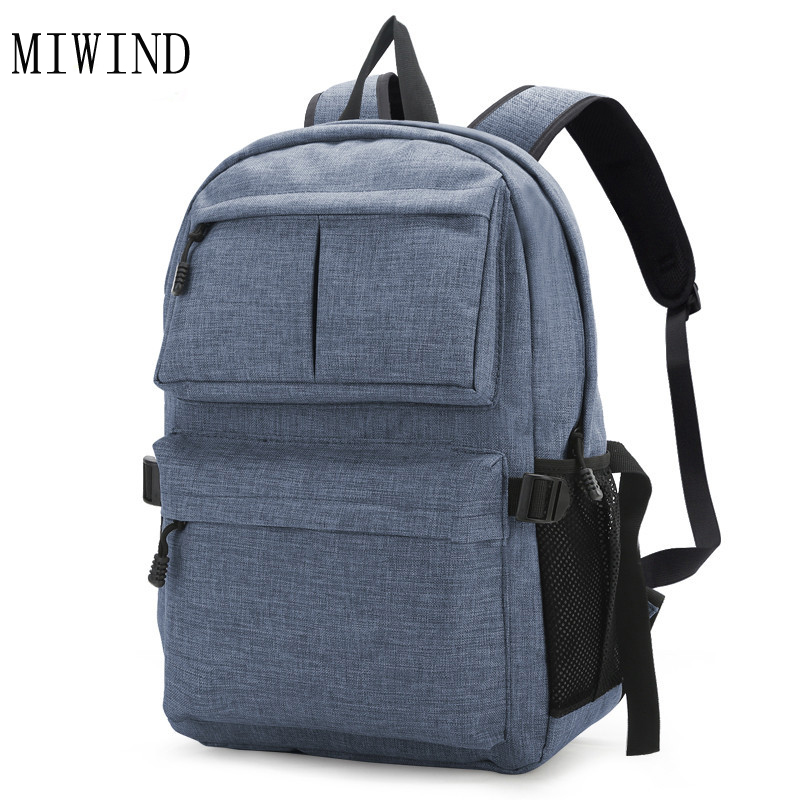 Brand backpack male Multifunction men backpacking backpack Student School Backpack Bag shoulder bags Laptop Rucksack TMH317
