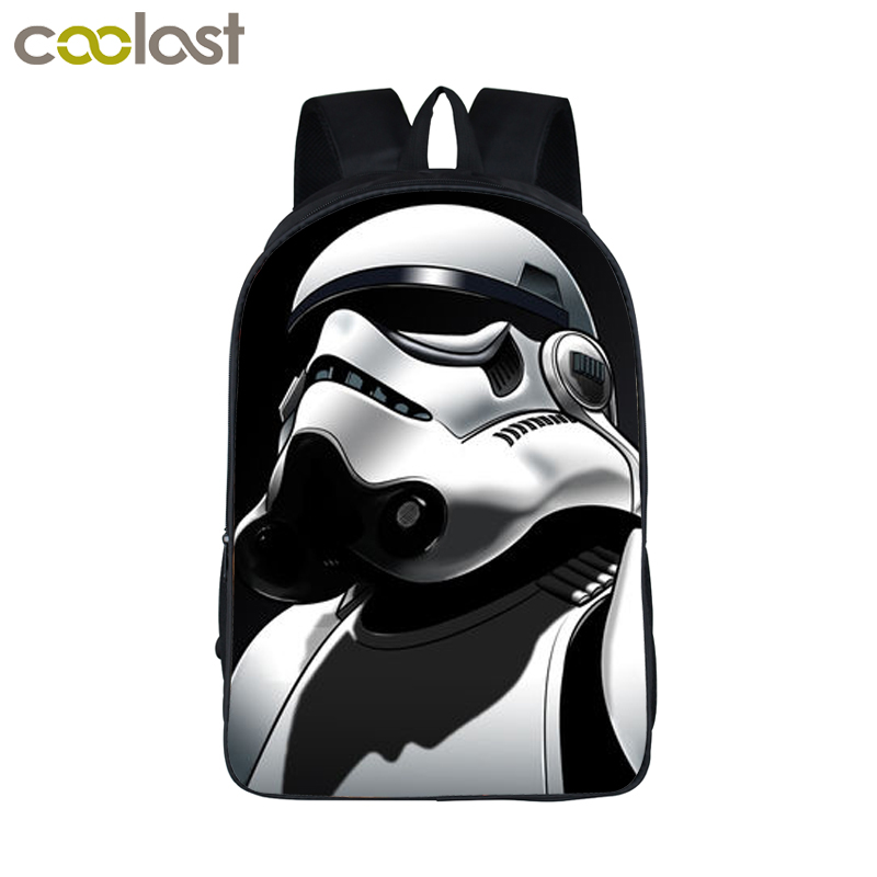 Star Wars Backpack Jedi Sith Knight Backpack Boys Star Wars School Backpacks For Teens Kids School Bags Kindergarten Backpacks