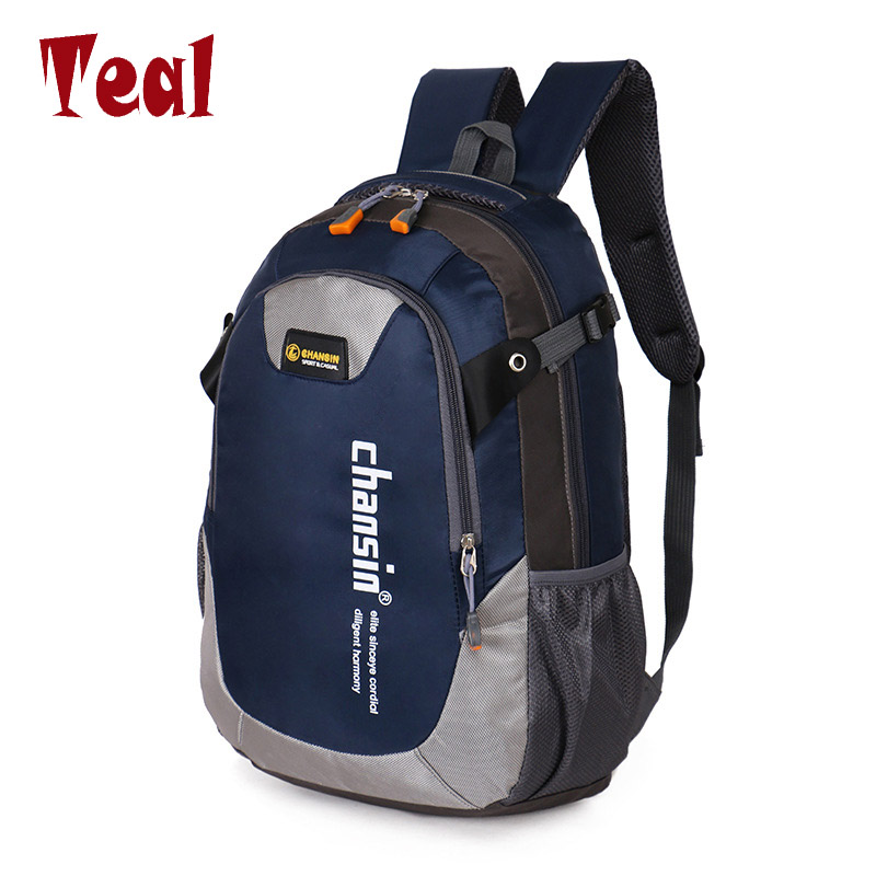 2017 Hot Sell Male Backpacks School Bag Boys For Teenagers Chain Oxford Waterproof Backpack Men Backpack Casual Nylon backpacks
